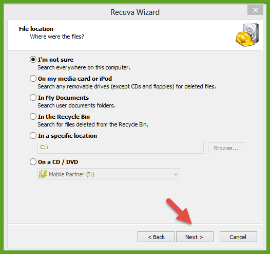 Recover Deleted files  (1)