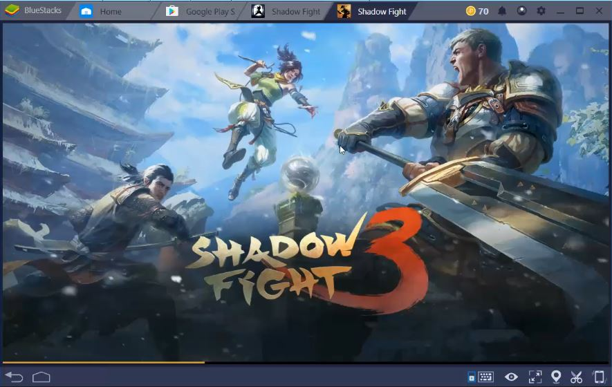 Shadow fight 3 on Windows 10