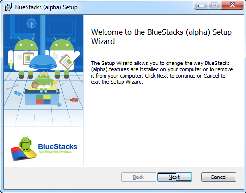 Bluestacks Offline Installer...