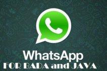 WhatsApp For Samsung Galaxy, Bada OS & Java Phones
