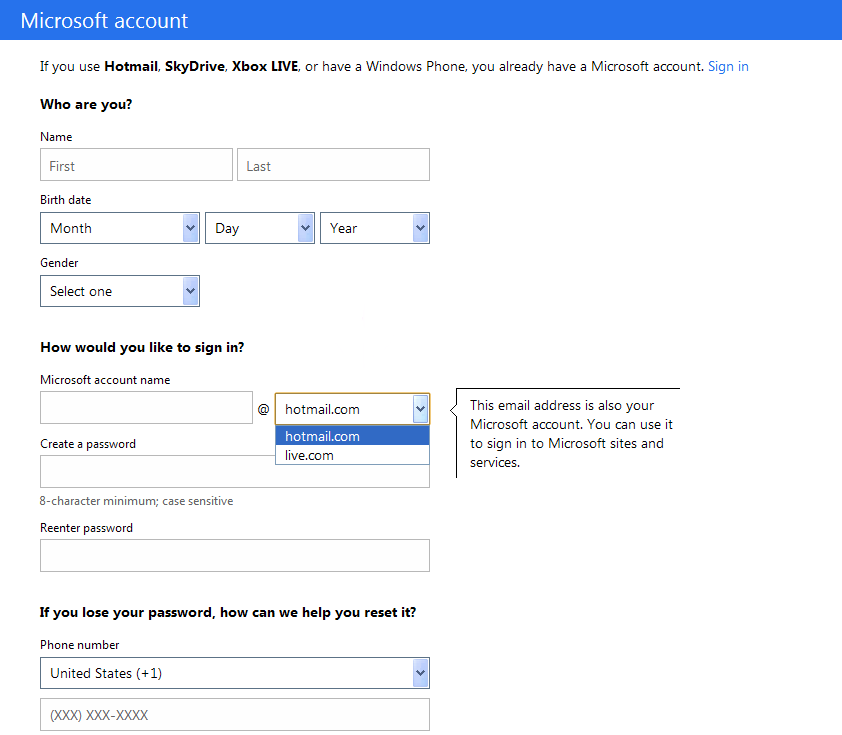Hotmail Outlook Sign In Login Sign Up Tips For Www | Autos ...