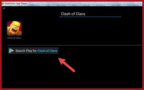 downlaod clash of clans using bluestacks steps (3)