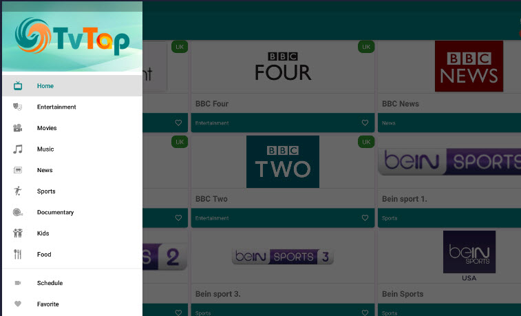 tvtap android app